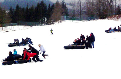 Snow Rafting / Winterevent-Modul: